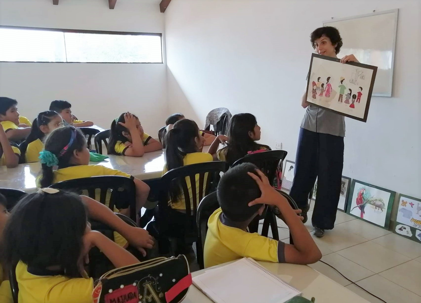 CIWY works with schools across Bolivia to offer environmental education