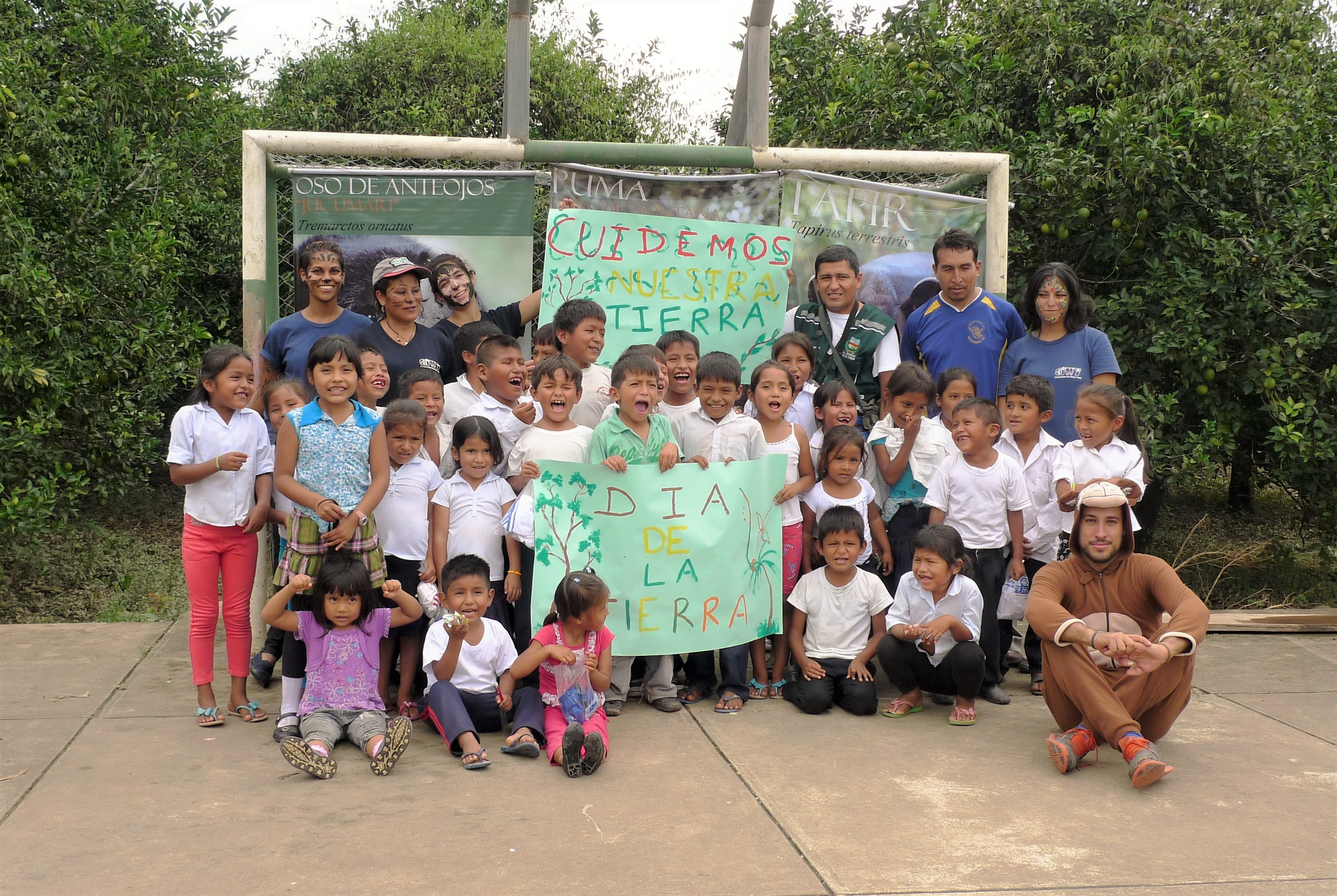 CIWY celebra el Día de la Tierra con un programa educativo en una escuela local